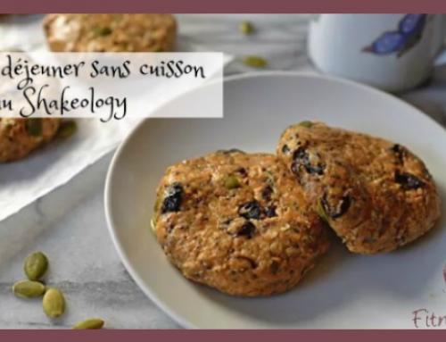 Biscuits déjeuner sans cuisson au Shakeology