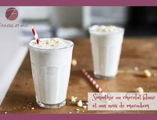 Smoothie au chocolat blanc et aux noix de macadam