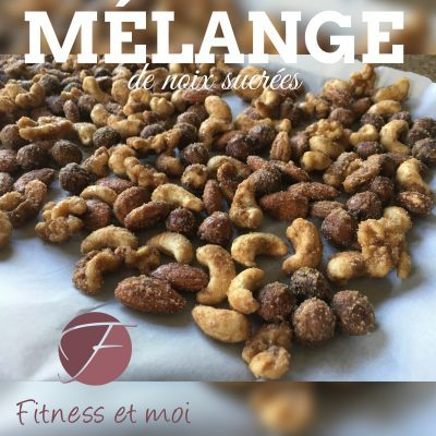 Mélange de noix sucrées