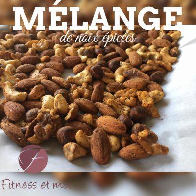 Mélange de noix épicées