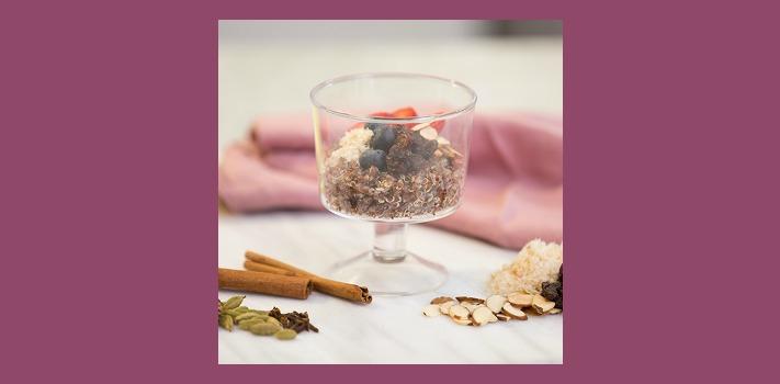 Porridge de quinoa crémeux