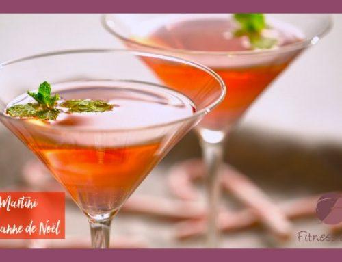 Martini à la canne de Noël