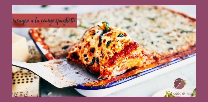 Lasagne à la courge spaghetti