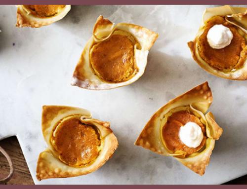 Tartelettes à la citrouille