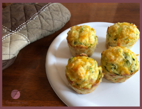 Muffins aux zucchinis et au fromage