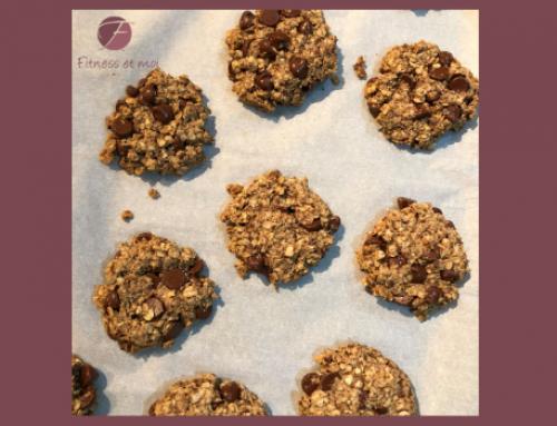 Biscuits à l'avoine et aux brisures de chocolat