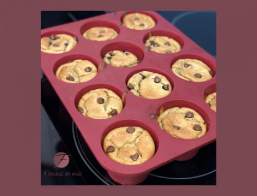 Muffins au beurre d'arachide et aux brisures de chocolat