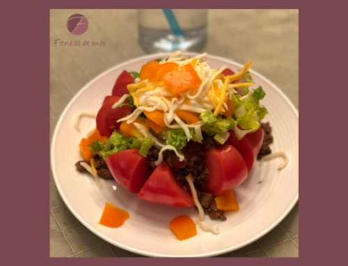 Taco dans une tomate