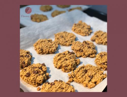 Biscuits à la citrouille et au beurre d'arachide aux pépites de chocolat