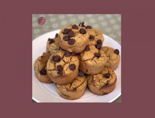 Muffins à la citrouille et aux brisures de chocolat