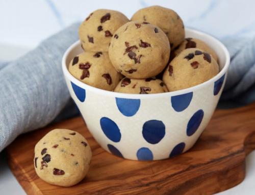 Bouchées de pâte à biscuit